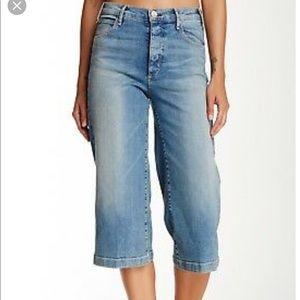 McGuire Bassette Crop Gaucho Jeans Sz 31